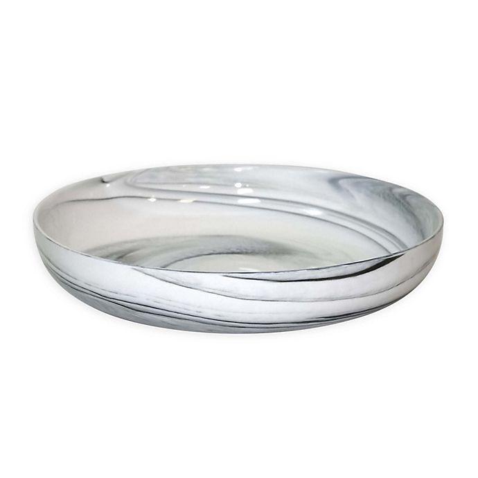 Alternate image 1 for Artisanal Kitchen Supply® Coupe Marbleized Dinner Bowl in Black/White