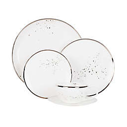 Olivia & Oliver® Harper Splatter Platinum Dinnerware Collection