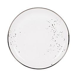 Olivia & Oliver™ Harper Splatter Platinum Dinner Plate