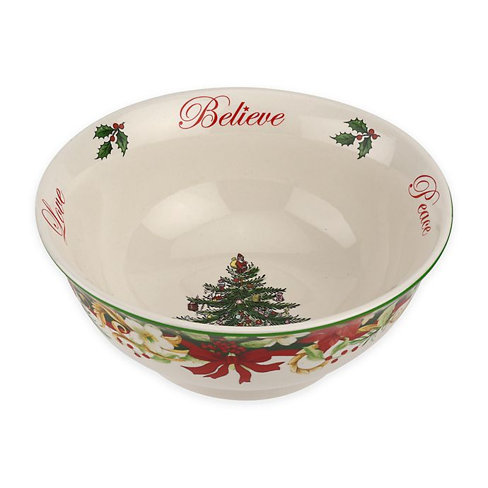 Spode® Christmas Tree 2018 Annual Revere Candy Bowl | Bed ...