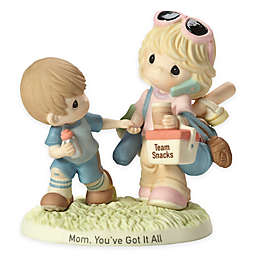 Precious Moments® Boy Pulling Mom Figurine