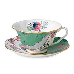 Wedgwood® Butterfly Bloom Butterfly Posy Teacup and Saucer