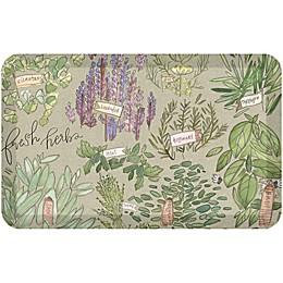GelPro® NewLife® Designer Comfort Fresh Herbs Kitchen Mat