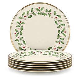 lenox holiday dinner plates