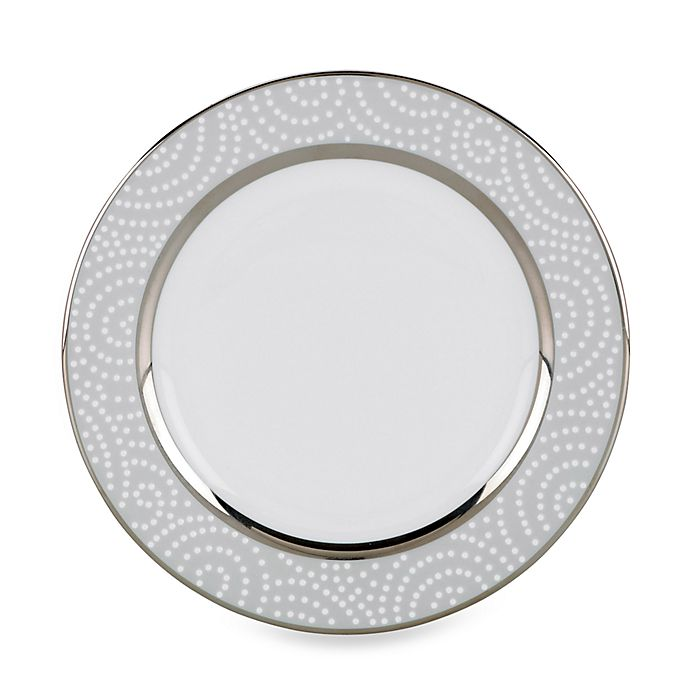 Alternate image 1 for Lenox® Pearl Beads Bread and Butter Plate