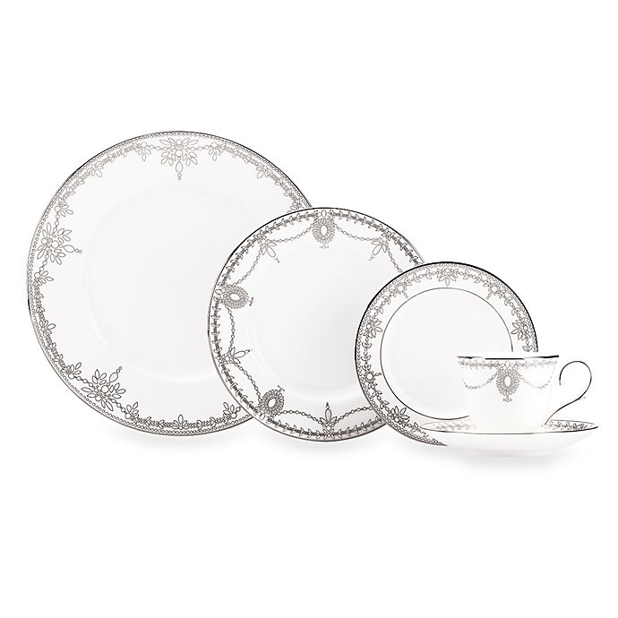 Alternate image 1 for Marchesa by Lenox® Empire Pearl Dinnerware Collection
