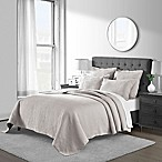 Emerson Matelassé Full/Queen Coverlet Set in Taupe