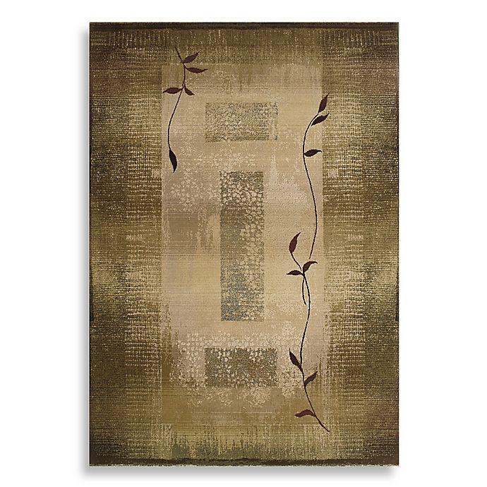 Alternate image 1 for Oriental Weavers Generations Area Rug in Green/Climbing Vine