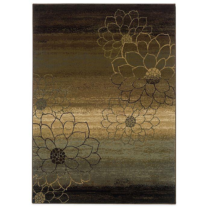 Alternate image 1 for Oriental Weavers Hudson Area Rug in Multi/Dahlia Silhouette