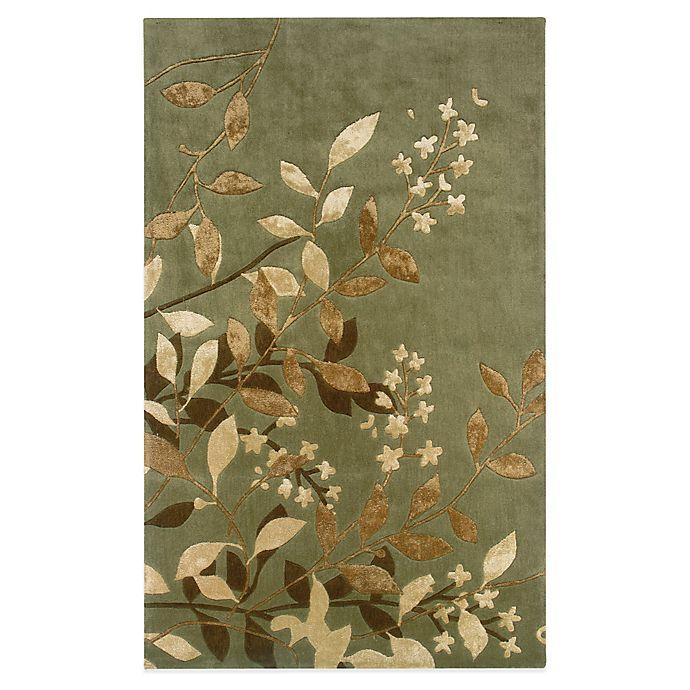 Bed Bath And Beyond Area Rugs Roselawnlutheran Earth Tone: Oriental Weavers Utopia Area Rug In Green/Eden Earth