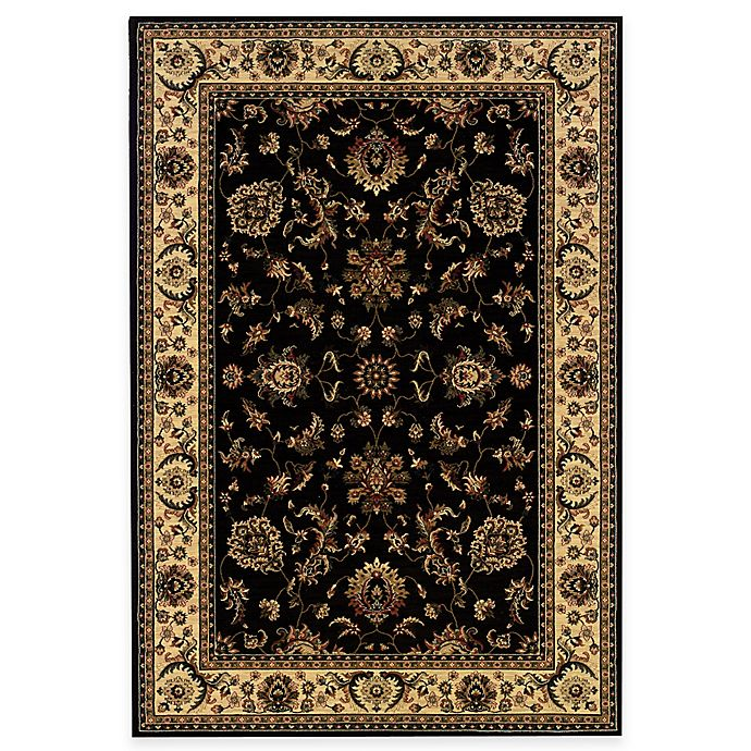 Alternate image 1 for Oriental Weavers Ariana Area Rug in Black/Emily