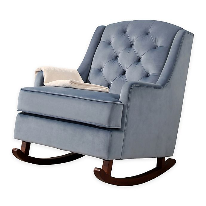 reputable site 013b4 18ea6 Abbyson Living® Mallory Velvet Rocking Chair | Bed Bath & Beyond