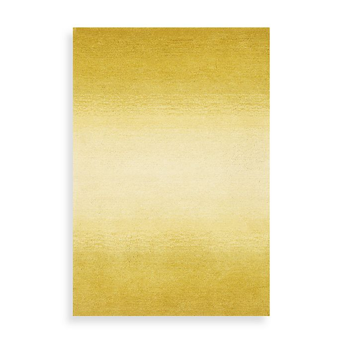 Alternate image 1 for Trans Ocean Ombre Horizon Area Rug in Yellow