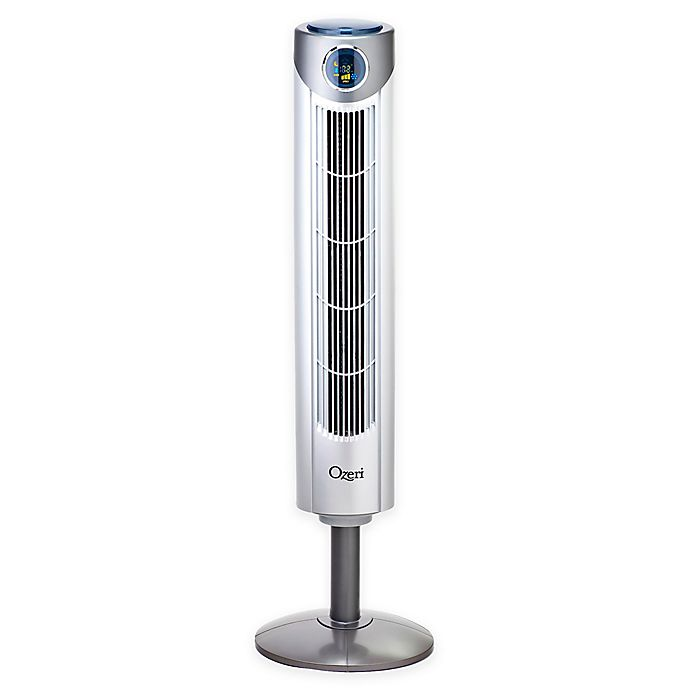 Alternate image 1 for Ozeri® Ultra 42-Inch Adjustable Oscillating Tower Fan with Noise Reduction Technology