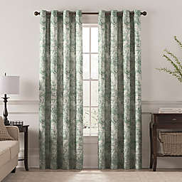 Chantal Printed Grommet Room Darkening Window Curtain Panel