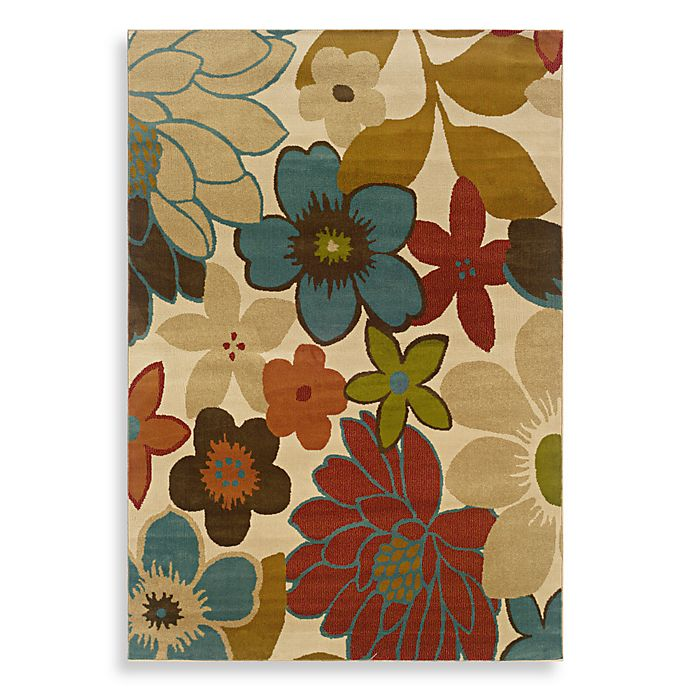 Alternate image 1 for Oriental Weavers Emerson Area Rug in Multi/Flower Town