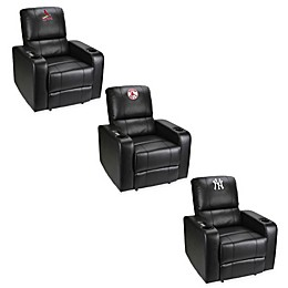 MLB Power Theater Recliner in Black