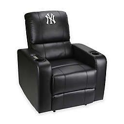 MLB New York Yankees Power Theater Recliner in Black