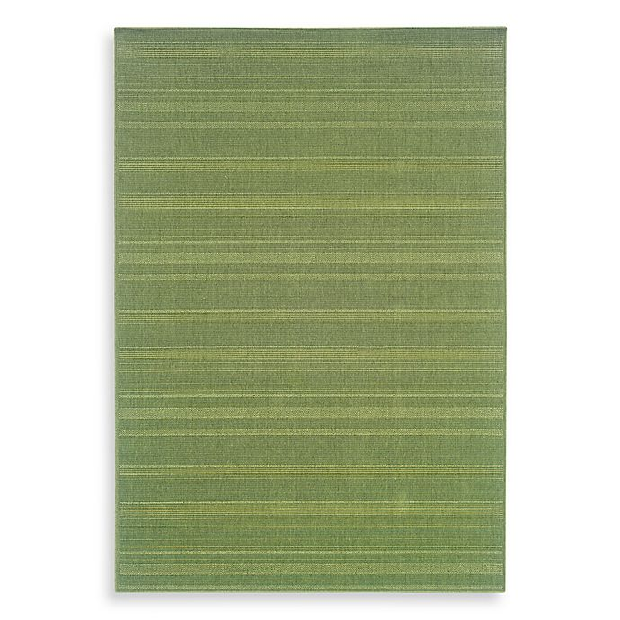 Alternate image 1 for Cabana Bay Lowell 7-Foot 3-Inch x 10-Foot 6-Inch Area Rug in Green