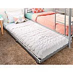 Forest Gate Twin Trundle Bed Frame in Silver