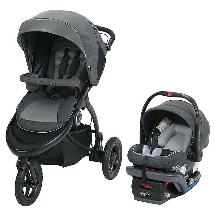 Alternate image 1 for Graco® Trailrider™ Jogger Travel System in Tenley