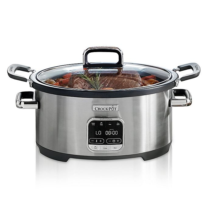 Alternate image 1 for Crock-Pot® 6 qt. 3-in-1 Multi-Cooker