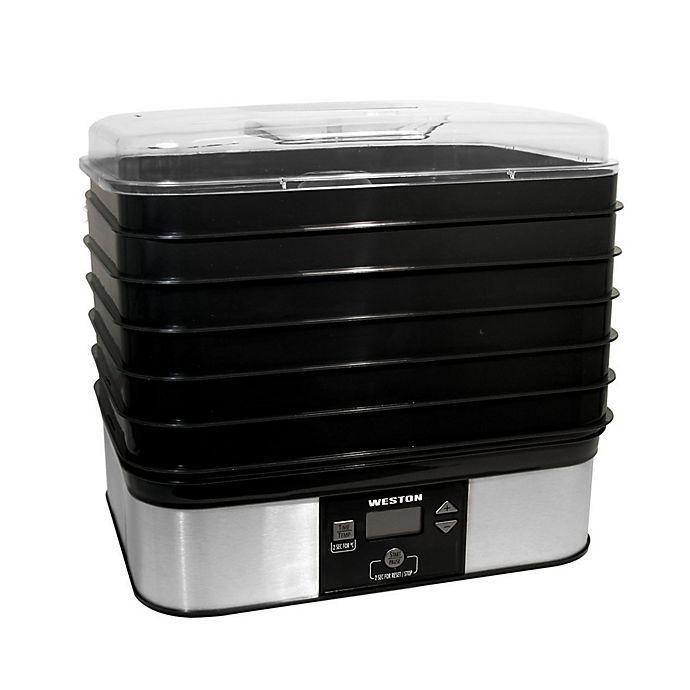 Weston 174 6 Tray Digital Dehydrator Bed Bath Amp Beyond