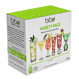 Bibo® Cocktail Pouch Variety Pack (Pack of 24)