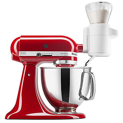 KitchenAid®  Flour Sifter & Scale Attachment in White