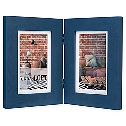 Malden® Urban Loft 2-Photo 4-Inch x 6-Inch Picture Frame