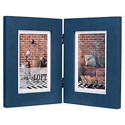 Malden® Urban Loft 2-Photo 4-Inch x 6-Inch Picture Frame