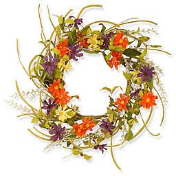 National Tree Company® Garden Accents 22-Inch Daisy Wreath