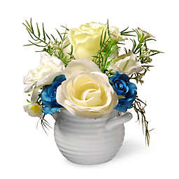 National Tree Company® Artificial Rose Arrangement in Pot