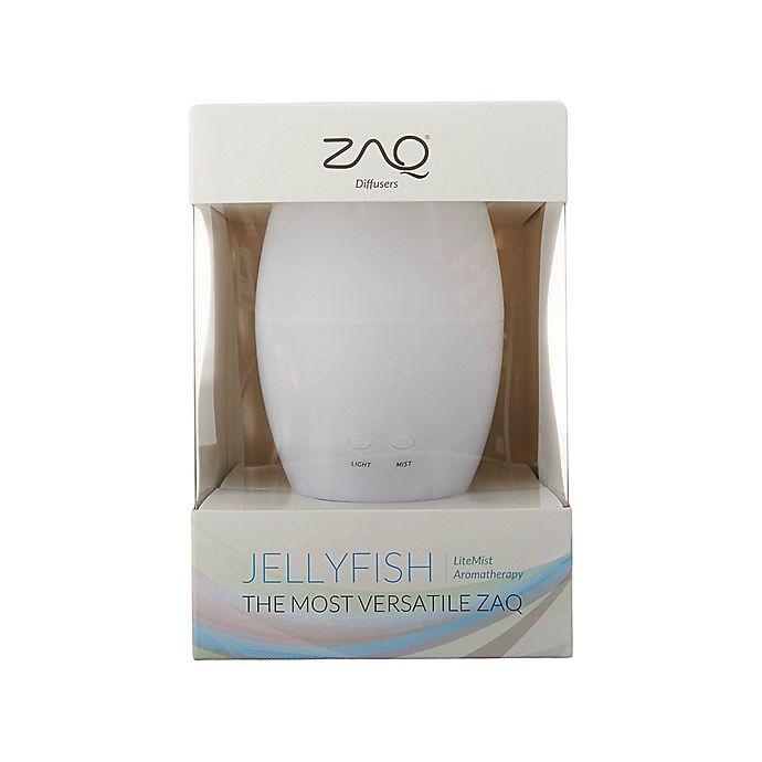 Alternate image 1 for ZAQ Jellyfish Essential Oil Diffuser in White