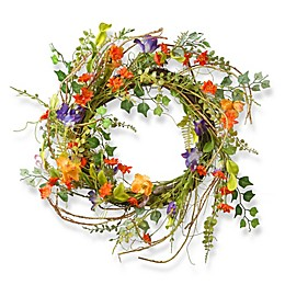 National Tree Company 22-Inch Morning Glory Wreath