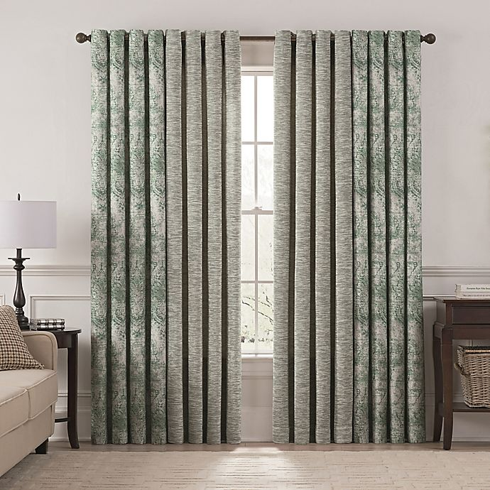 Alternate image 1 for Chantal Grommet Room Darkening Window Curtain Panel