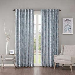 Regency Heights Cosma 95-Inch Rod Pocket/Back Tab Window Curtain Panel in Blue