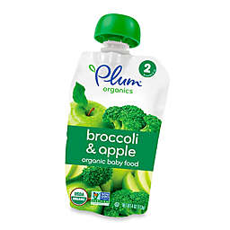 Plum Organics™ Second Blends™ Broccoli and Apple Baby Food Pouch