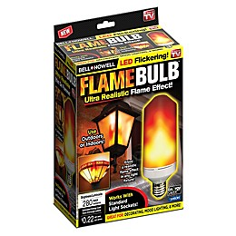 Bell + Howell Flickering Flame LED Bulb