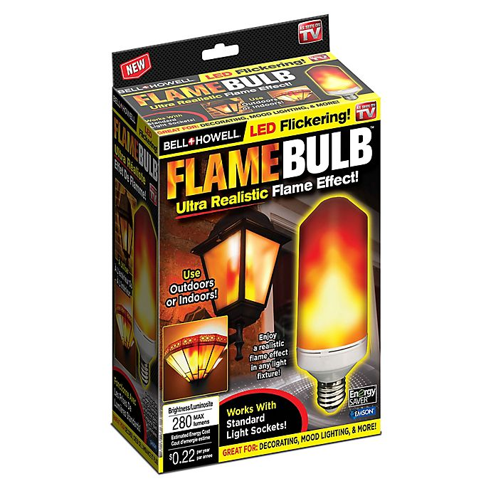 Bell Howell Flickering Flame Led Bulb Bed Bath And