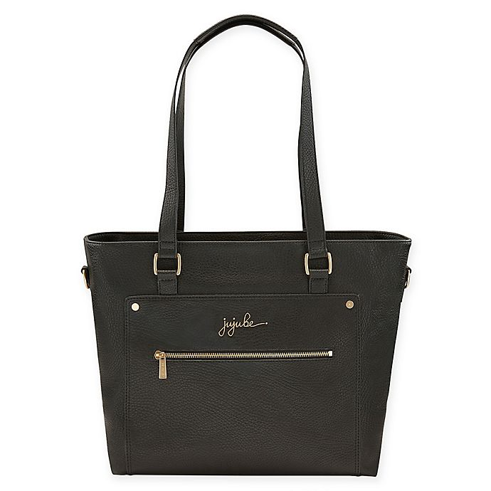 Alternate image 1 for Ju-Ju-Be® Ever Collection Everyday Tote Diaper Bag in Black