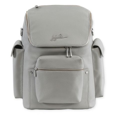 Ju Be Ever Collection Forever Backpack Diaper Bag In Stone