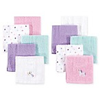 Hudson Baby® 8-Pack Unicorn Woven Terry Washcloths in Purple
