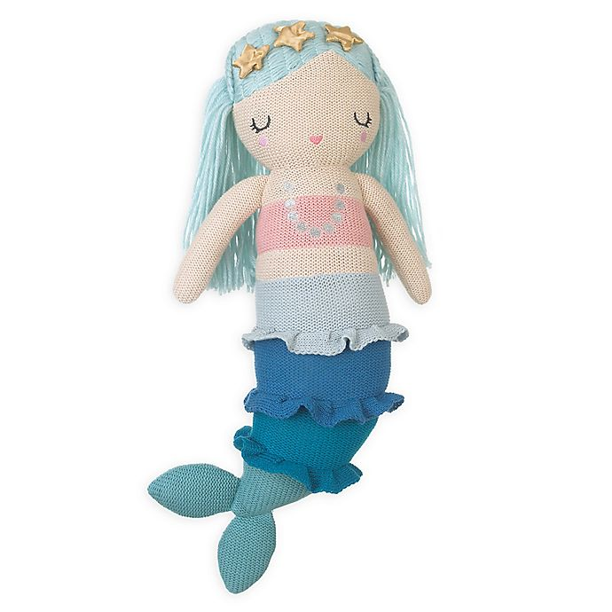 Alternate image 1 for NoJo® Sugar Reef Mermaid Plush Toy