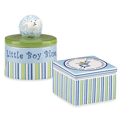 Gorham® Little Boy Blue Trinket Boxes