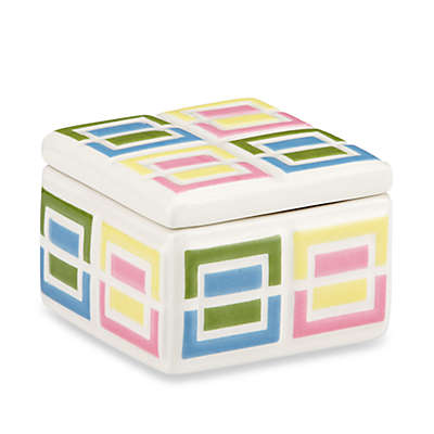 Gorham® Pitter Patter Square Trinket Box