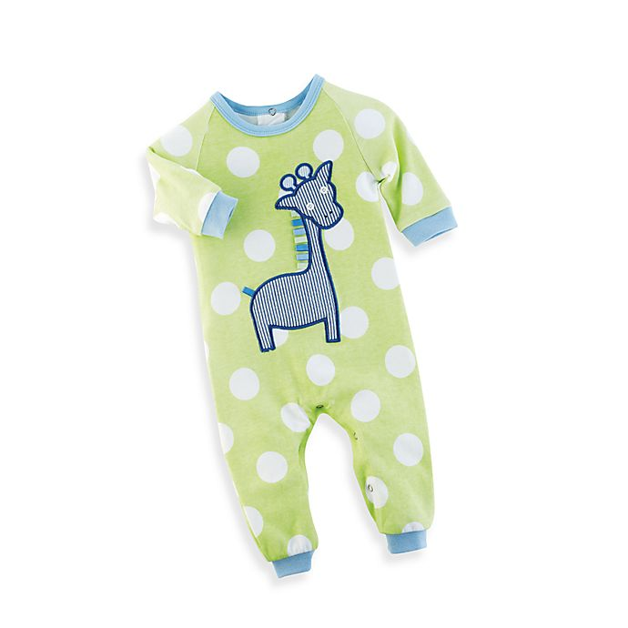 c6784491 Mud Pie™ Giraffe PajaMain Ages 0 to 6 Months | Bed Bath & Beyond