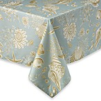 Natural Shell 70-Inch Round Tablecloth
