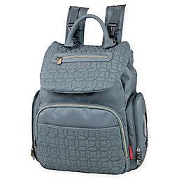Fisher Price® Hayden Quilted Backpack Diaper Bag in Grey