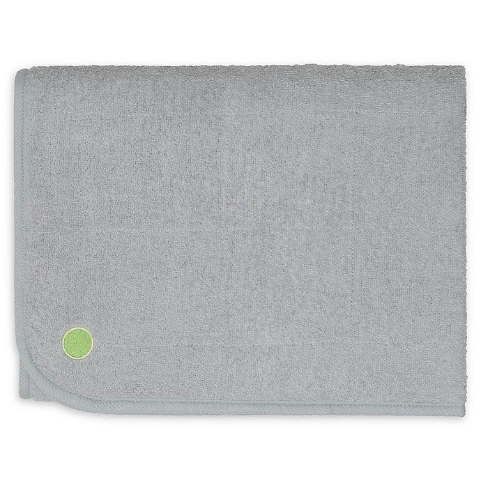 Peapodmats Medium Small Mattress Protector In Grey Bed
